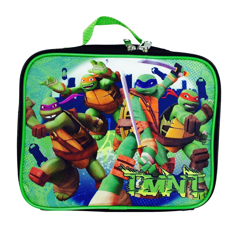 Lunch Box TMNT Teenage Mutant Ninja Turtles Insulated Lunch Bag