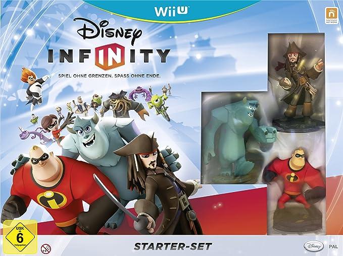 Disney Starter Pack For Nintendo Wii U - Juego (Wii U, Niños, K-A (niños hasta adultos)): Amazon.es: Videojuegos