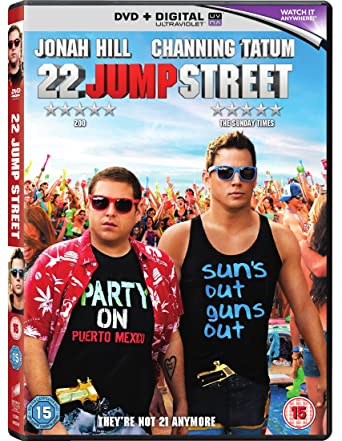 22 Jump Street Dvd 2014 Amazon Co Uk Channing Tatum Jonah