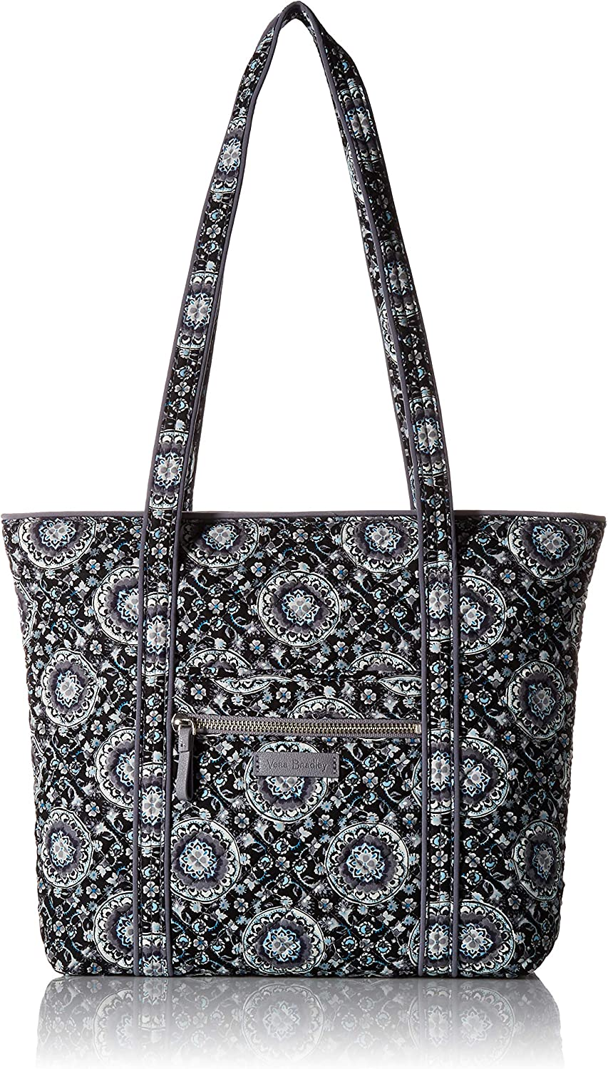 Vera Bradley Women's Signature Cotton Small Vera Tote Bag