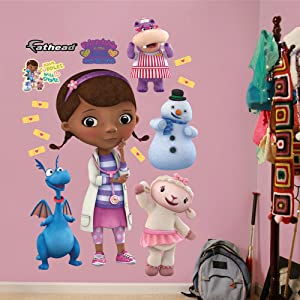 FATHEAD Doc McStuffins: Collection-Giant Officially Licensed Disney Removable Wall Decal