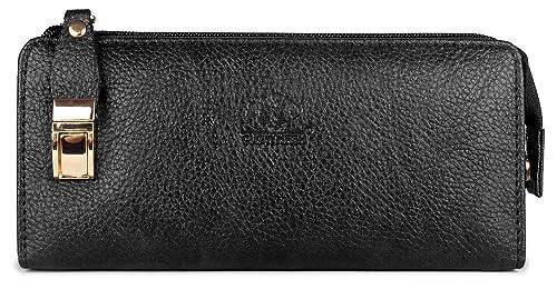 2bf2bce88121 The Clownfish Black Women s Wallet (TCFLWLFL-ABBL5)  Amazon.in  Bags ...