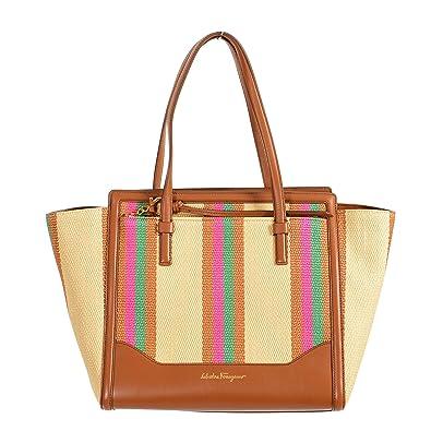 Salvatore Ferragamo Leather Multi-Color Women s Handbag Shoulder Bag ... e3f035a69a