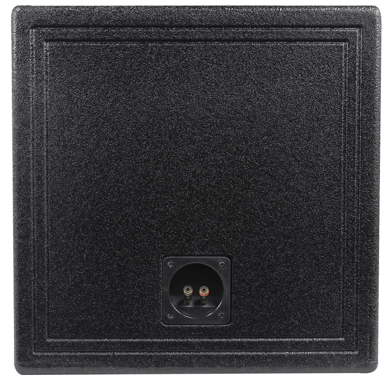 Q Power QBOMB15VL SINGLE Single 15-Inch Side Vented Speaker Box with Durable Bed Liner Spray by Q Power (Image #4)