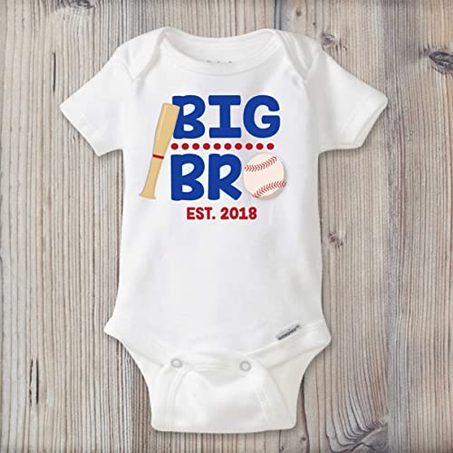 amazon com big bro sibling pregnancy announcement baseball
