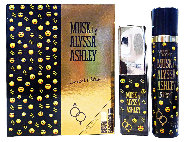 Alyssa Ashley Musk Limited Edition Gift Set 50ml EDP + 100ml Deodorant Spray 3495080740941