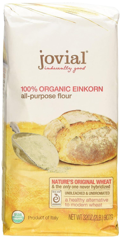 Jovial: harina orgánica Einkorn, 32 onzas (paquete de 2)