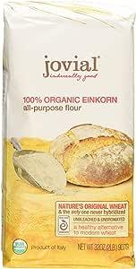 Jovial: harina Einkorn orgánica, 32 oz (2 unidades)