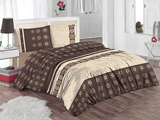 ThreeL 100/% Cotton Quilt Duvet Cover Bedding Set Bed Linen and Pillow Cases