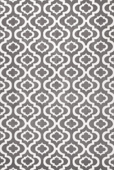 summit s27 new moroccan gray trellis rug modern abstract rug 22 inch x 35 inch