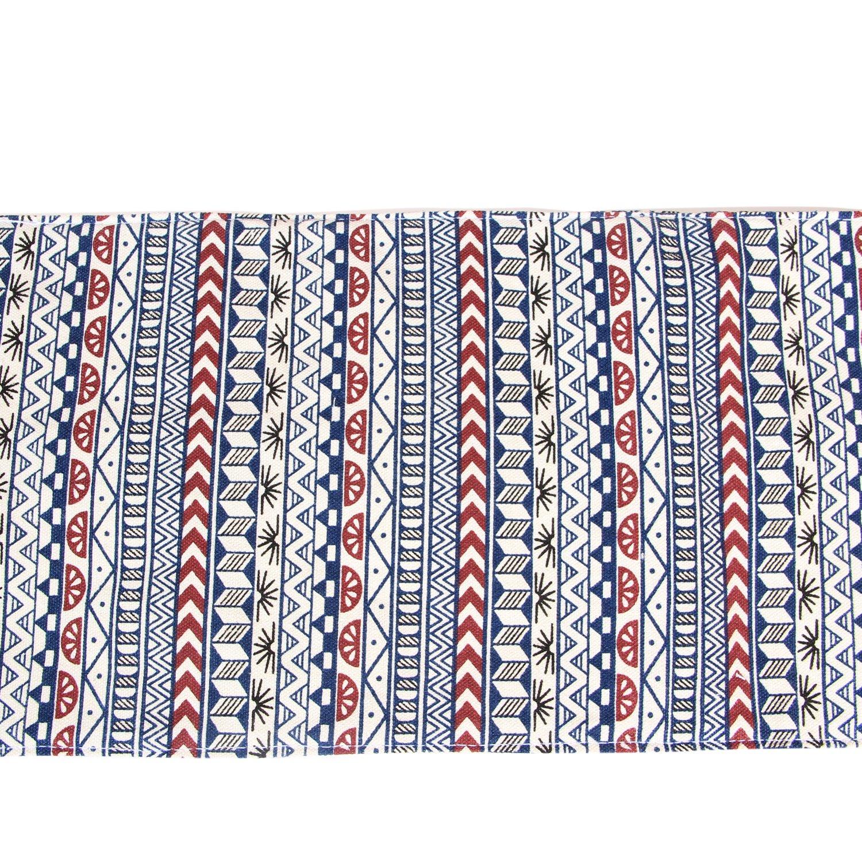 No Matita Inclusa Damero Tela Wrap per matite Colorate Cassa del Supporto di Matita Viaggi Roll up portapenne con Cerniera Tasca per Matita Accessori Blue Flowers, 48-Hole