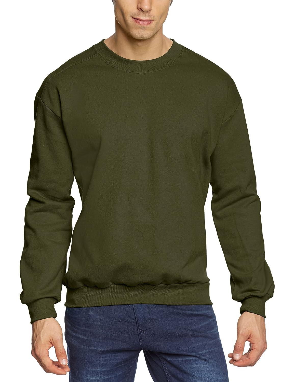 f9b8dc427 Anvil Men's Crew Neck Fleece Sweatshirt