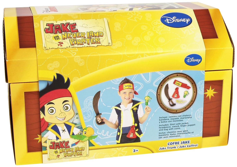 Rubies - Cofre de Jake y los piratas de Nunca Jamás con accesorios (30314)   Amazon.es  Juguetes y juegos f101b651cf2e