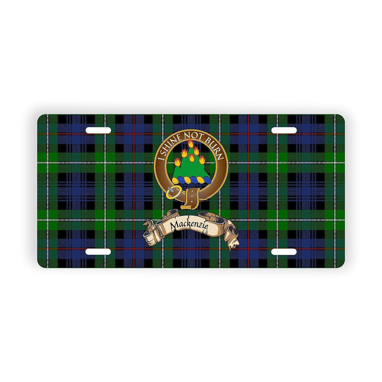 Scotland Clan MacKenzie Novelty Auto Plate