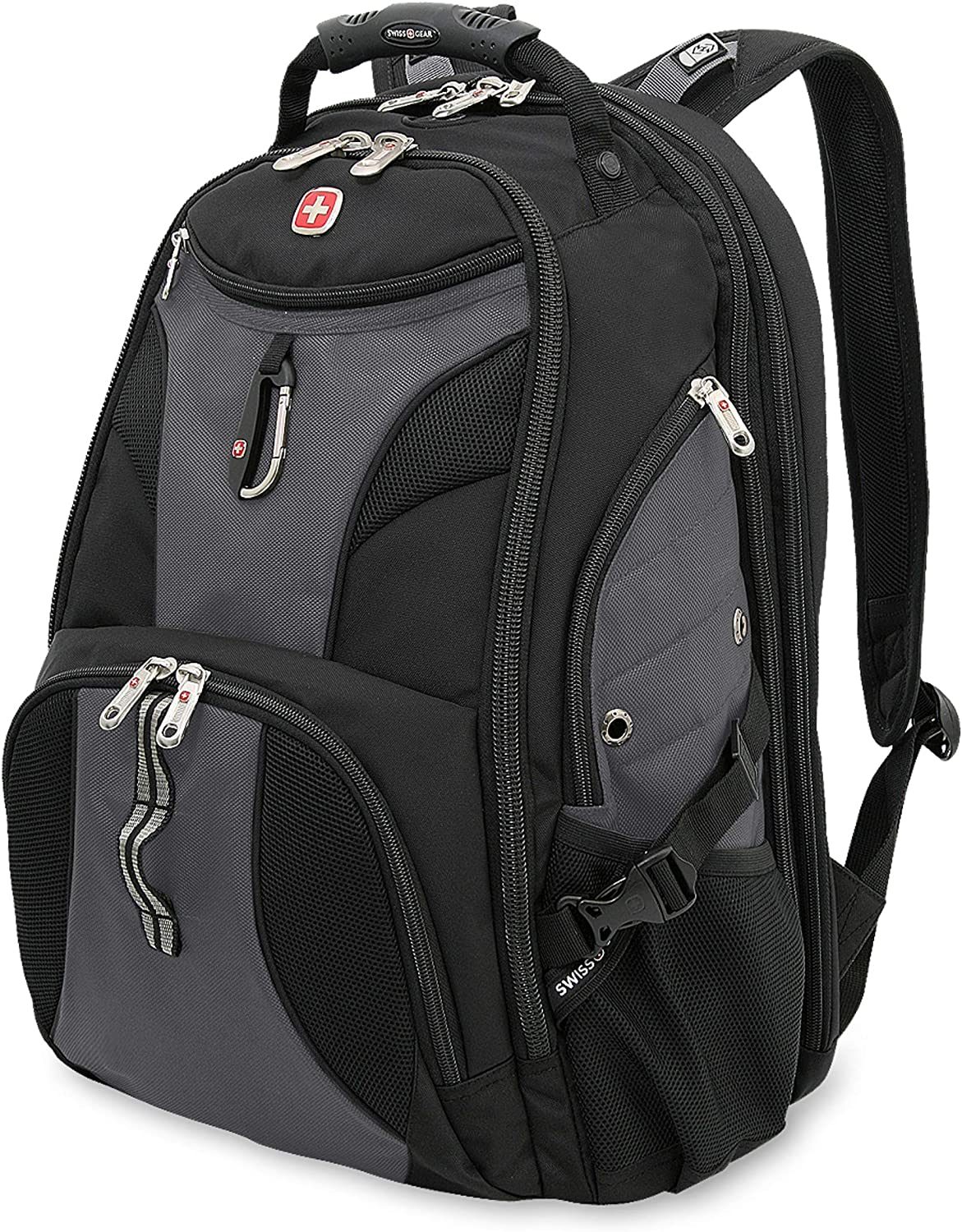 SWISSGEAR 1900 ScanSmart TSA Laptop Backpack - Grey