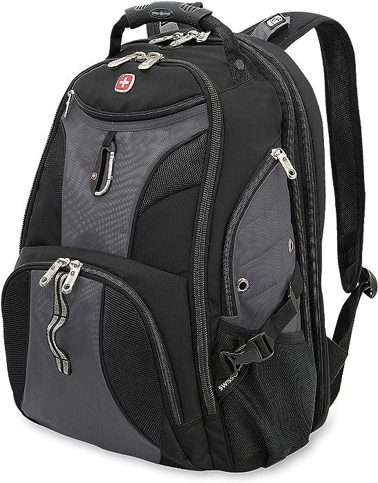 SWISSGEAR 1900 ScanSmart TSA Laptop Backpack - Grey