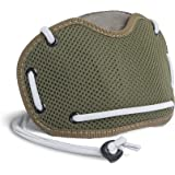 BANALE Maschera # 5protezione orale, maschera filtro anti-smog per chi va in monopattino, verde oliva/grigio chiaro