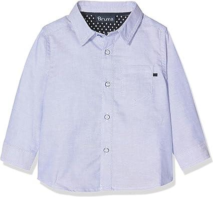 Brums Camicia Oxford Camisa, Azul (Azul Scuro 03 152), 68 (Talla del Fabricante: 6M) para Bebés: Amazon.es: Ropa y accesorios