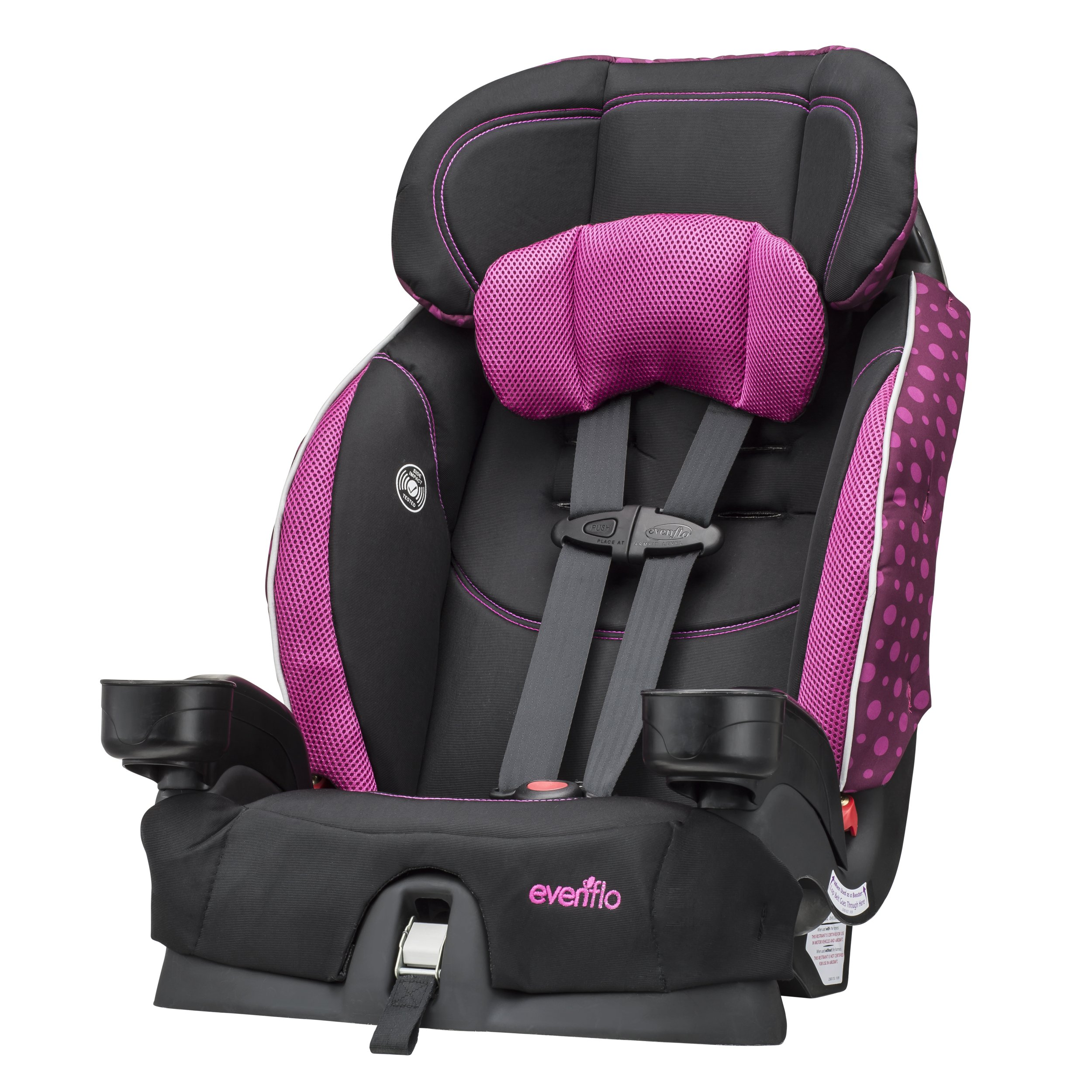Evenflo Chase Select Harnessed Booster Car Seat