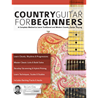 Country Guitar for Beginners: A Complete Country Guitar Method to Learn Traditional and Modern Country Guitar Playing… book cover