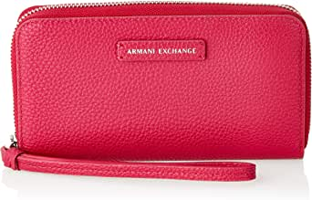 Armani Exchange Wristlet for Women- Fuschia