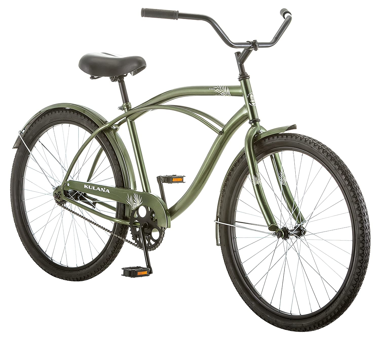 Kulana Men S Cruiser Bike 26 Inch Green Sports