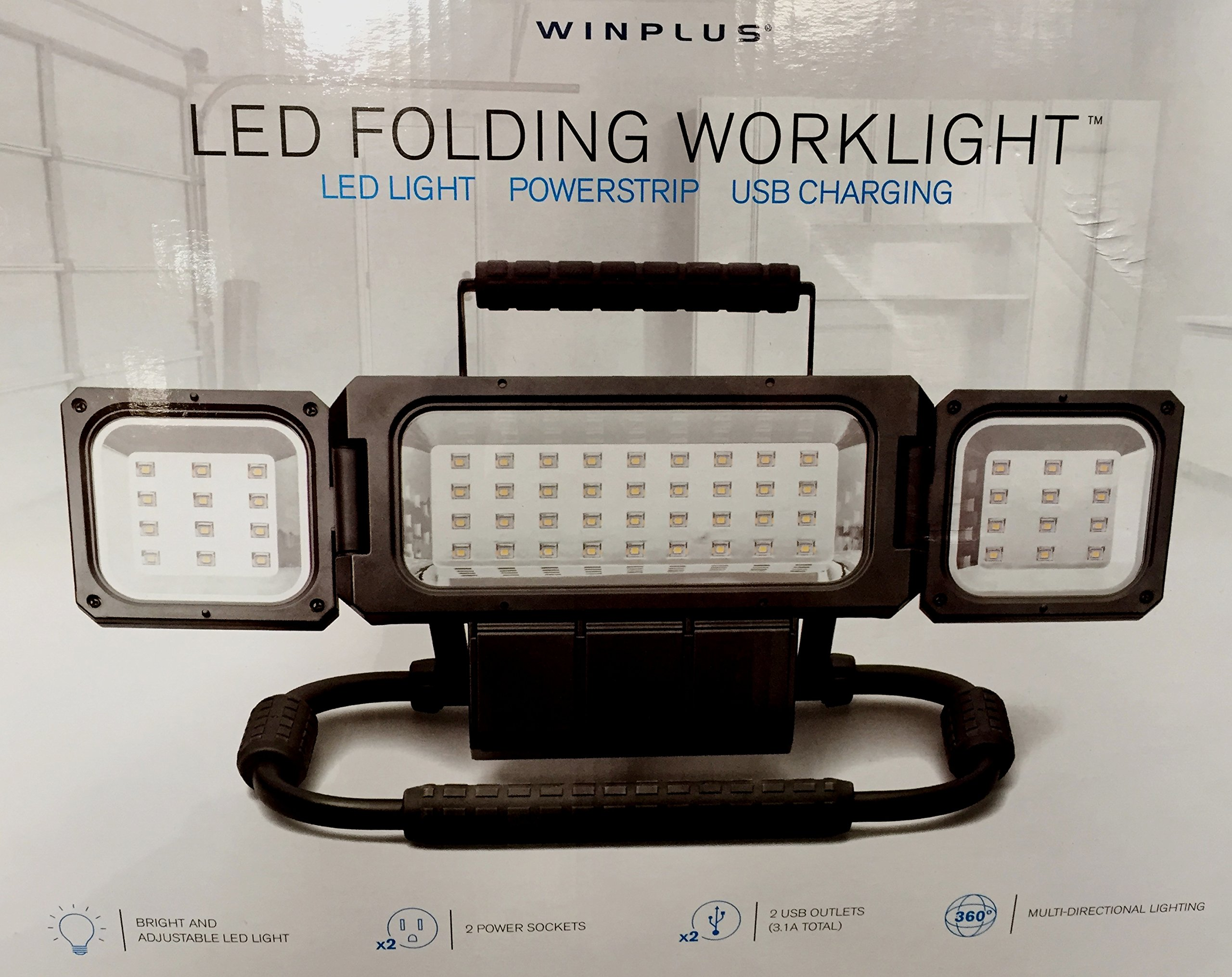 Winplus LED Folding Worklight
