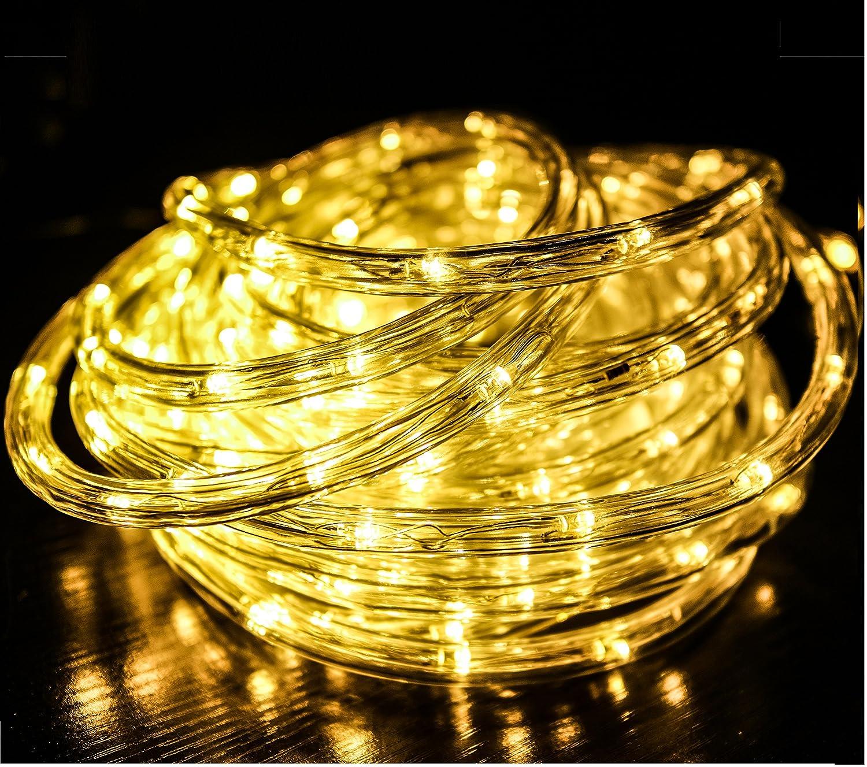 m leds Iluminación Led Luces de Manguera Navidad Cadena de Luces Tubo