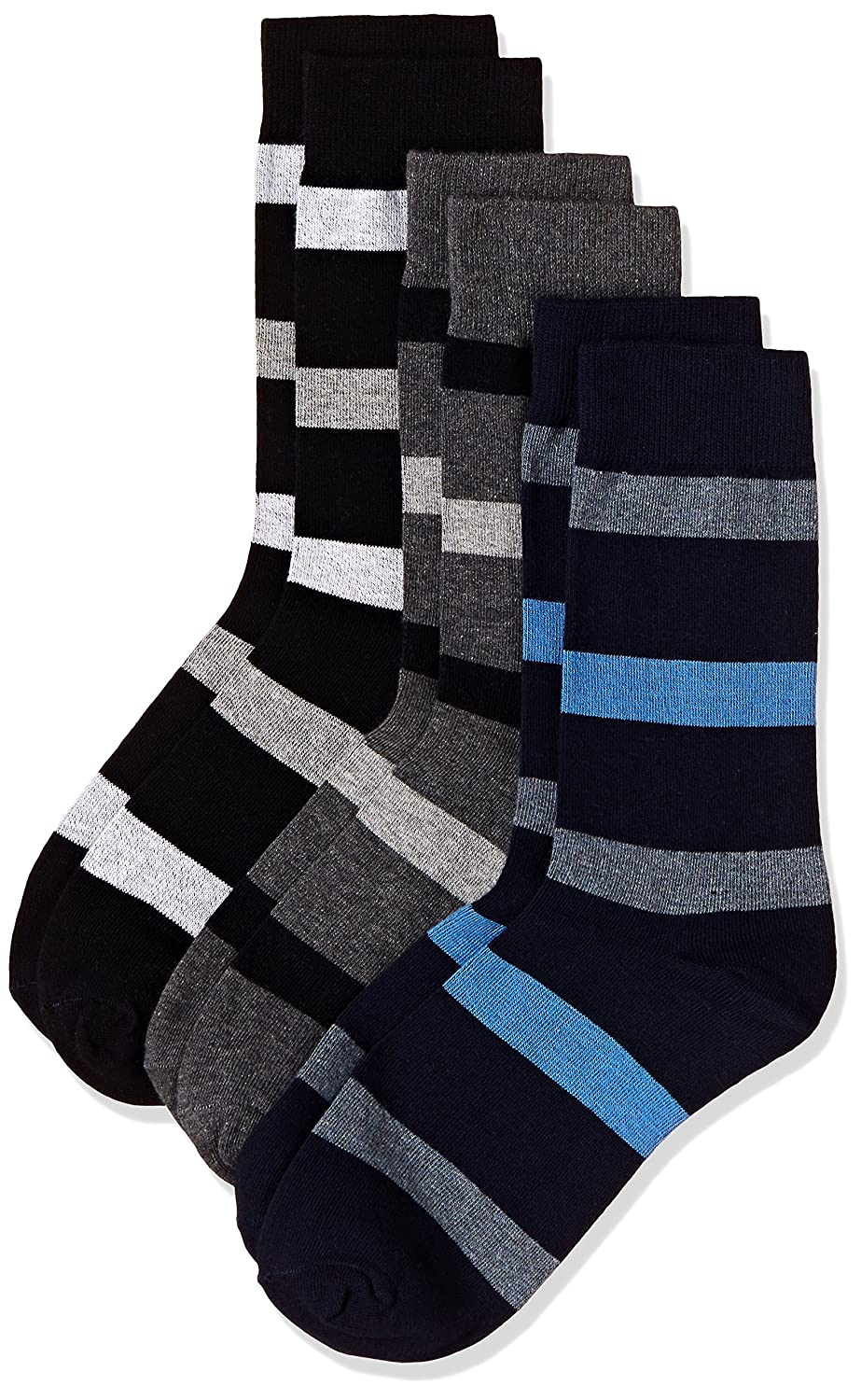 Amazon Brand - Symbol Men's Cotton Liner Socks (Combo Pack of 3)