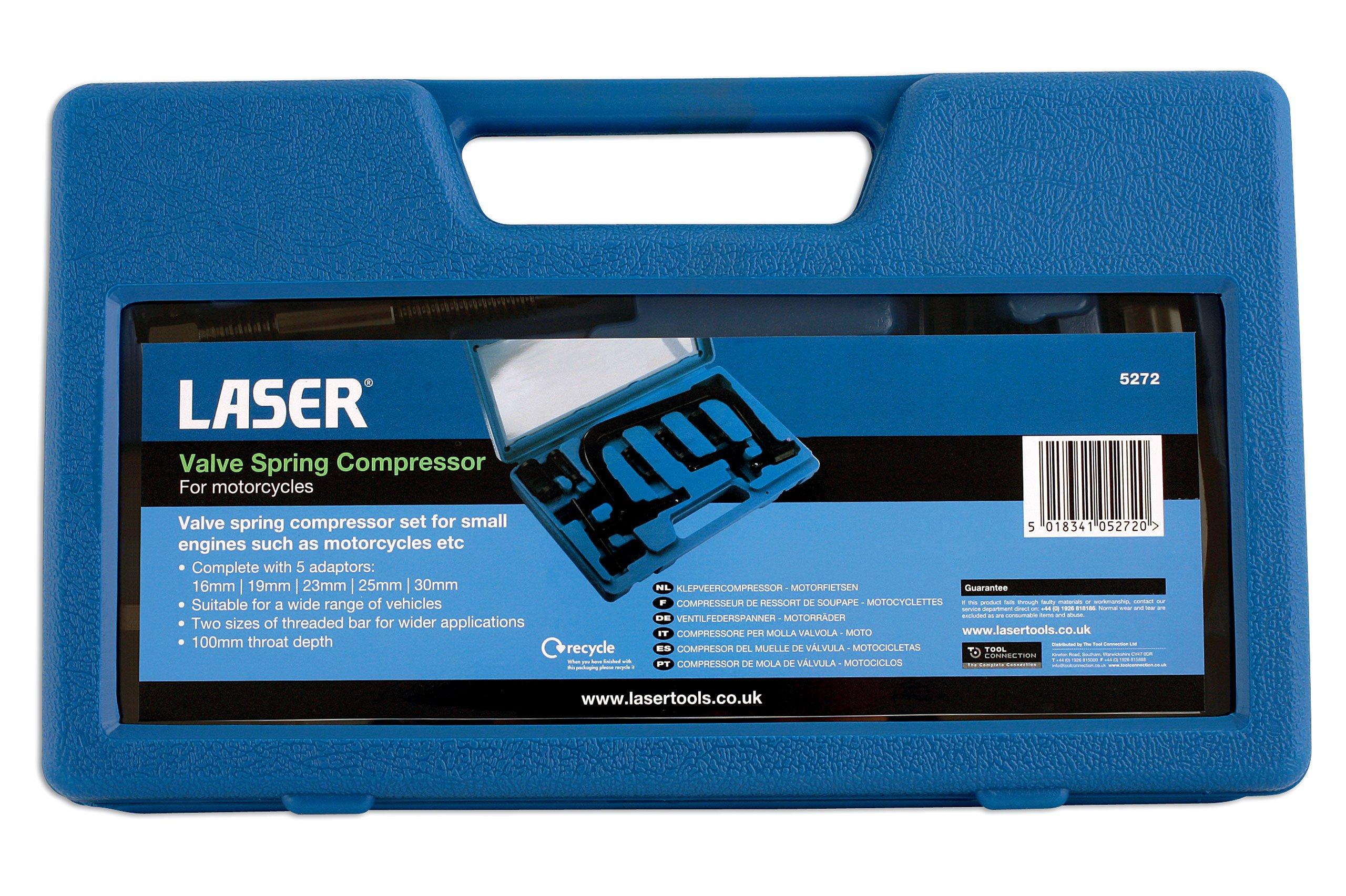 Laser - 5272 Valve Spring Compressor Set - Motorcycle by Laser (Image #2)