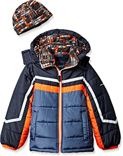 ede3e0404 Amazon.com  M2C Little Boys Thicken Warm Cotton Padded Ski Jackets ...