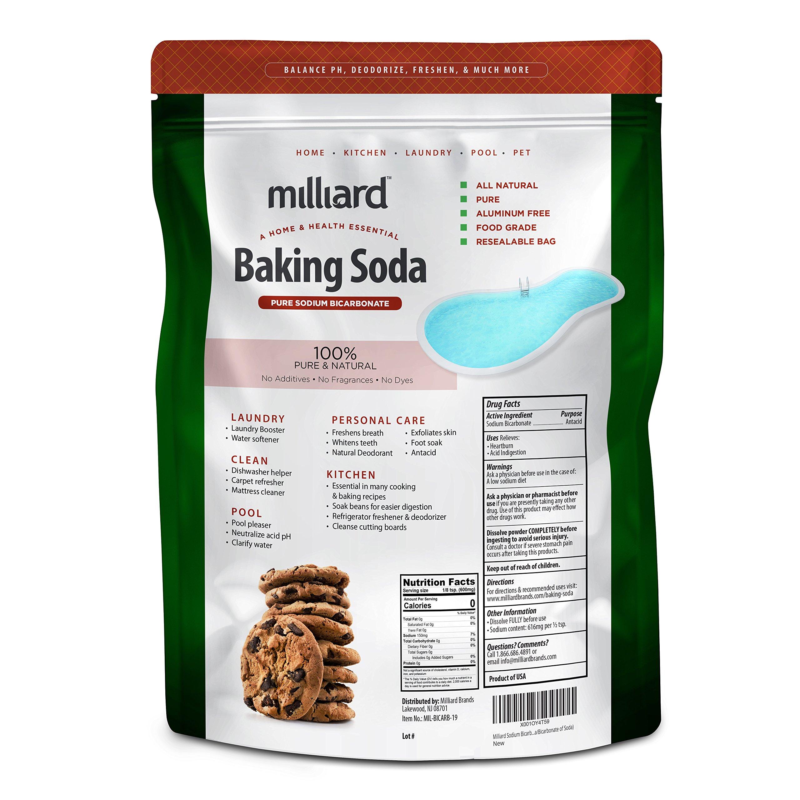 Milliard Sodium Bicarbonate Usp Aka Baking Soda