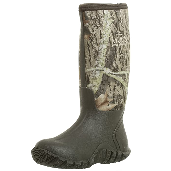 The Original MuckBoots Adult FieldBlazer Boot,Mossy Oak Break-up Camo,13 M US Mens/14 M US Womens