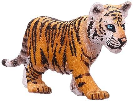 amazon com schleich tiger cub figure schleich toys games