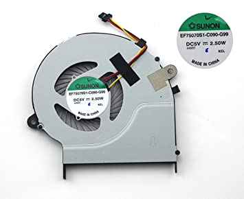 3 wires/pins cpu cooling fan for toshiba satellite l50-b l50d-b