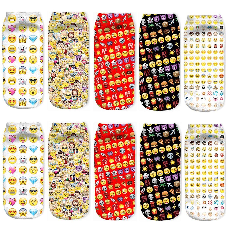 Emoji Socks (5 pairs)