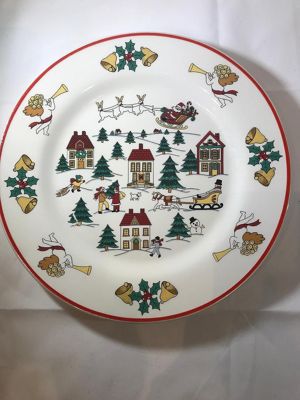Sammlerstück für Weihnachten Teller: THE JOY OF CHRISTMAS, Jamestown ...