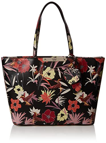 Guess Hwff6693230 Britta Floral Shopper Women s Tote Handbag ... 4a2139fb85f04