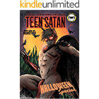 "Teen Satan #3 ""Halloween Special"" book cover"
