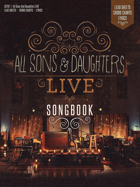 All sons and daughters all sons and daughters live print all sons and daughters all sons and daughters live print songbook amazon music hexwebz Choice Image