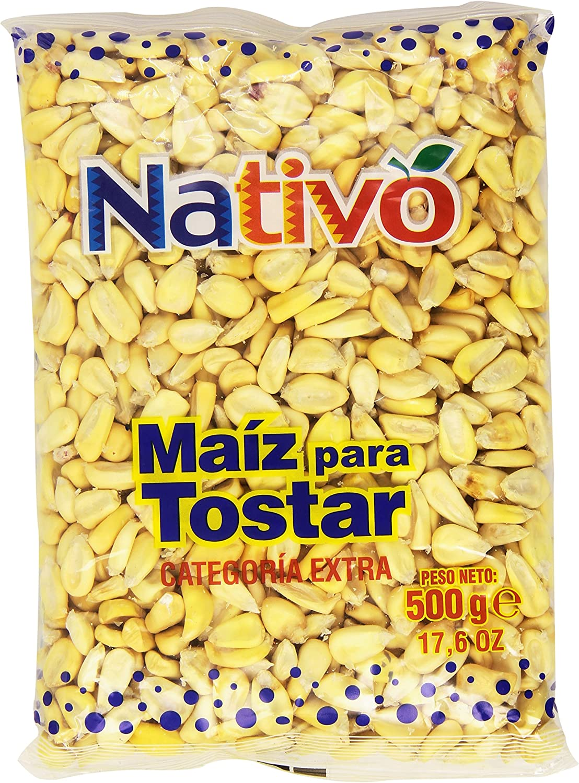 Nativo - Maíz para Tostar - Categoría Extra - 500 g