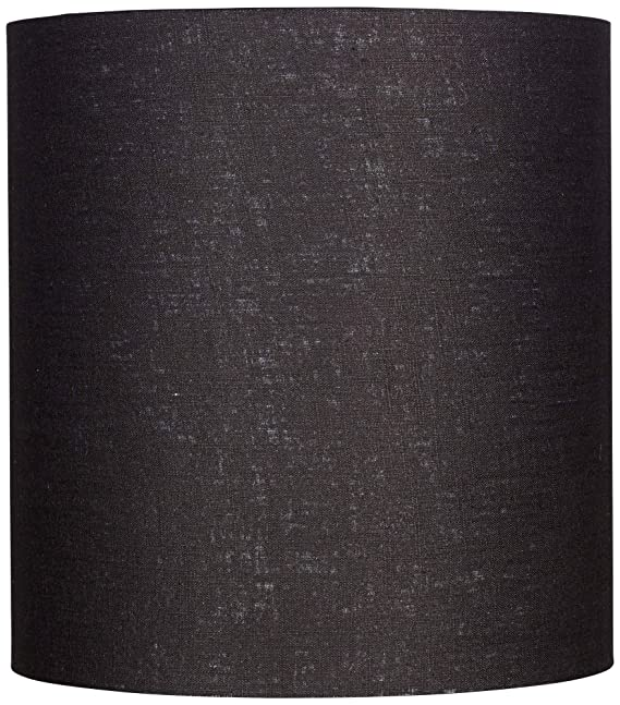 Amazon.com: Negro Tall Lino Sombra De Carga 14 x 14 x 15 ...