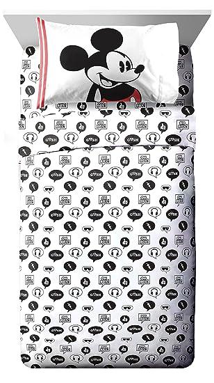 Amazon.com: Ropa de cama Mickey, Microfibra, gemelo: Home ...