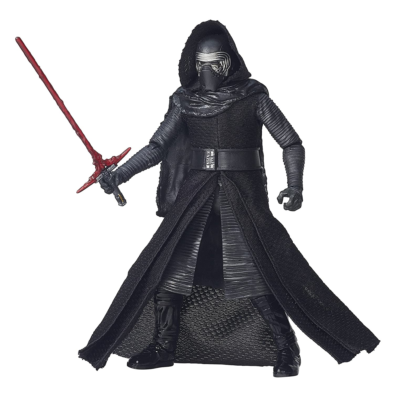 New in hand Star Wars The Force Awakens Black Series 6 Inch Kylo Ren