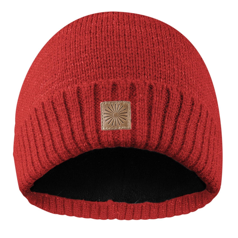 Rubberneck Flash Beanie Mütze reflektierend aus Wolle mit Innenfleece, One Size, Damen und Herren Damen und Herren (Grau)