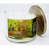 Bath & Body Works Home Autumn Scented 3 Wick 14.5 Ounce Candle Limited Edition 2017