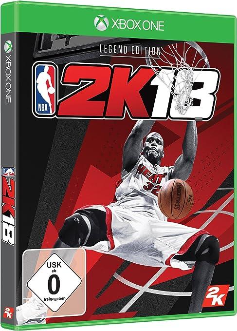 NBA 2K18 - Legend Edition - Xbox One [Importación alemana]: Amazon ...