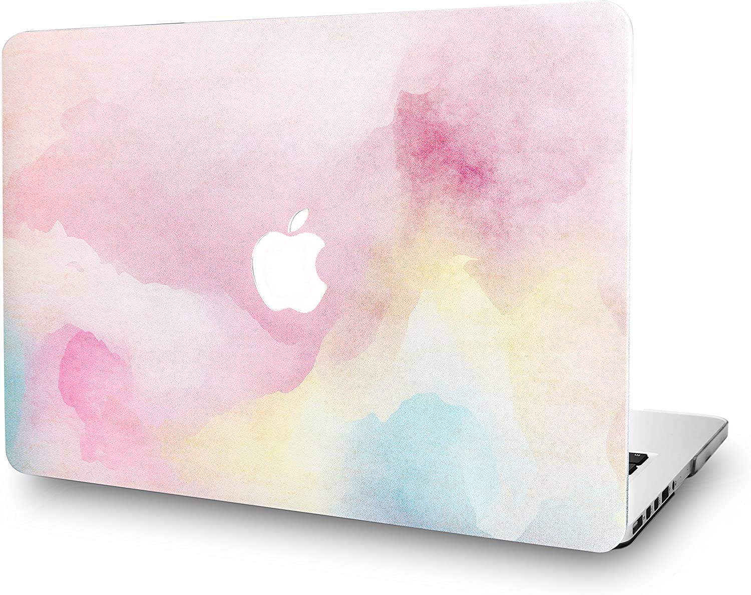 KECC Laptop Case for MacBook Air 13 Inch Plastic Case Hard Shell Cover A1466/A1369 (Rainbow Mist)