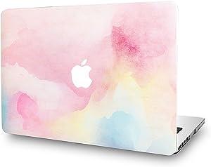 KECC Laptop Case for MacBook Air 13 Inch Plastic Case Hard Shell Cover A1466/A1369 (Rainbow Mist)