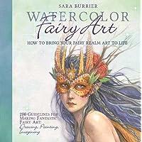 Watercolor Fairy Art